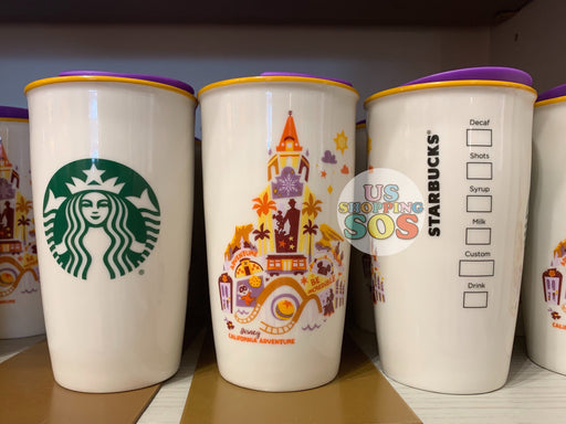 "DLR - Starbucks Double Wall Tumbler - California Adventure ""Be Incredible"""
