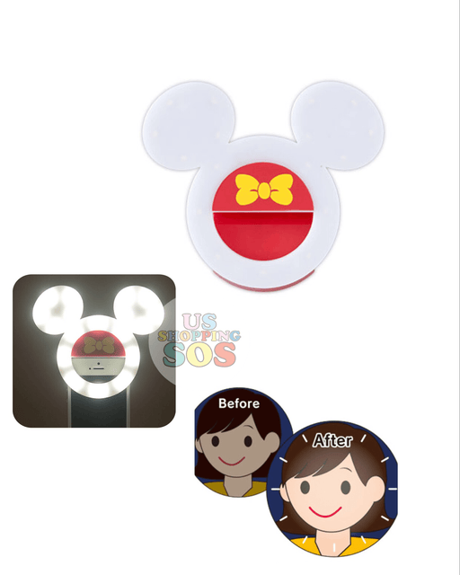 TDR - Mickey Mouse Icon Selfie Ring Light