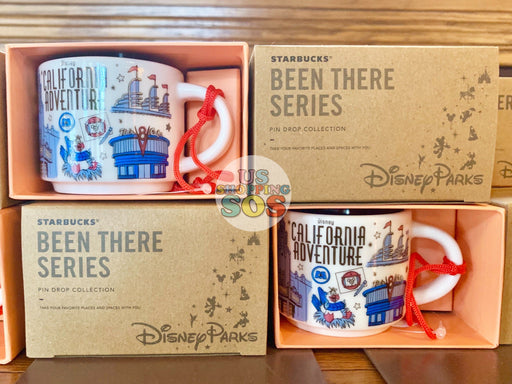 DLR - Starbucks x California Adventure Been There Series Ornament