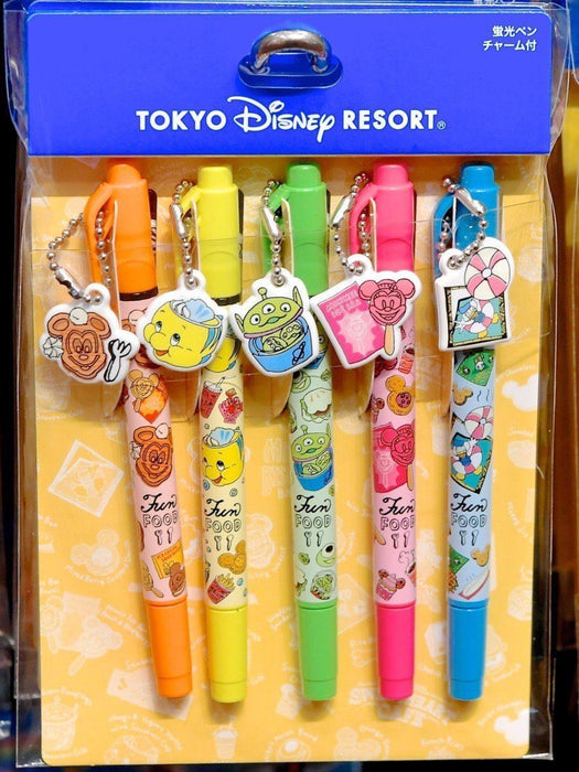 TDR - Food Theme Highlighters Set