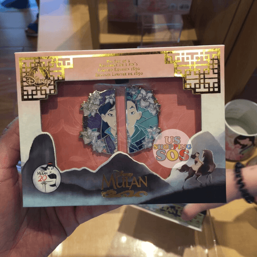 SHDL - Mulan 20th Anniversary Pin Set (Limited Edition)