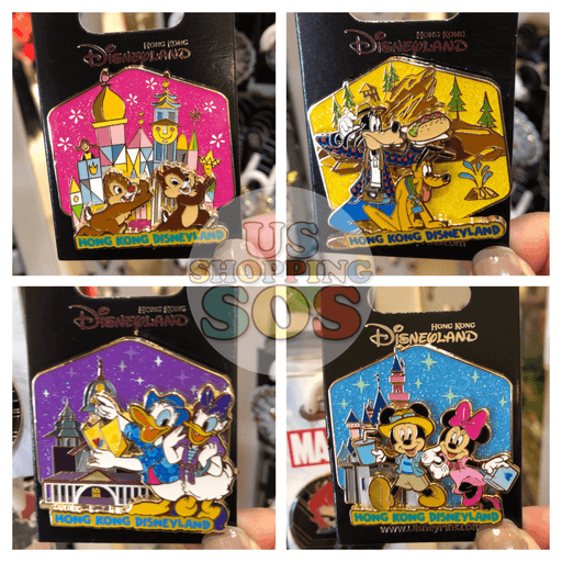 HKDL - Hong Kong Disneyland Attraction Pin