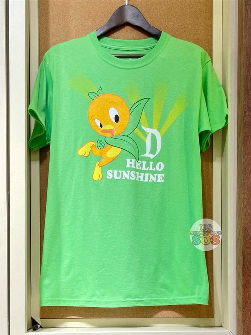 DLR - Graphic Tee - Orange Bird D Hello Sunshine (Adult)