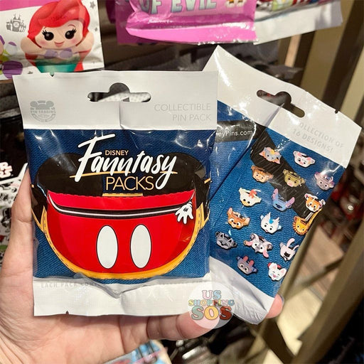 DLR - Mystery Collectible Pin Pack - Disney Fanntasy Packs