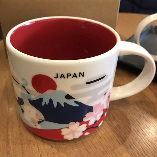 JP Starbucks - You Are Here Japan Mug