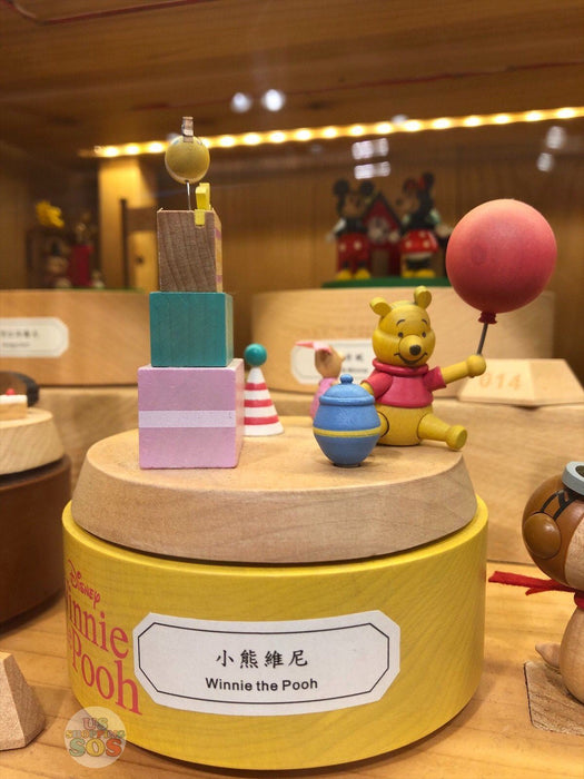 HK Disney Local License Collection- Music Box x Winnie the Pooh
