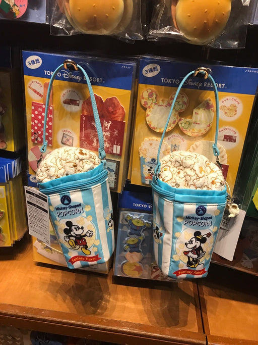 TDR - Mickey & Minnie Popcorn Pencil Bag