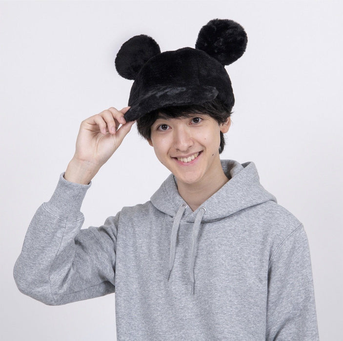 TDR - Fluffy Cap x Mickey Mouse (Black)