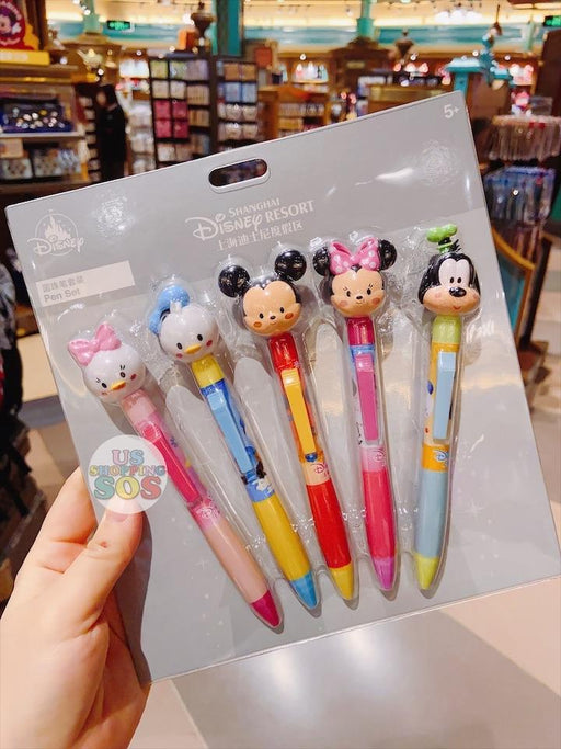 SHDL - Mickey & Friends Pens Set by jmaruyama