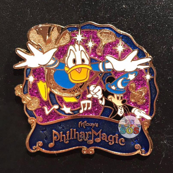 TDR - Mickey's PhilharMagic Pin