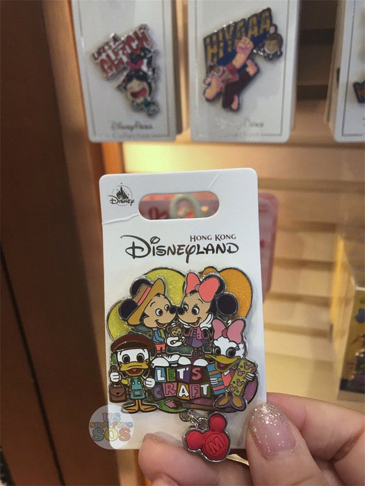 HKDL - Let's Craft Collection by Jerrod Maruyama - Pin x Mickey & Friends