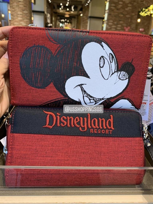DLR - Sketch Mickey Wallet