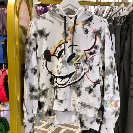 "WDW - Tie-Dye ""Walt Disney World"" Mickey Hoodie Pullover Black (Adult)"