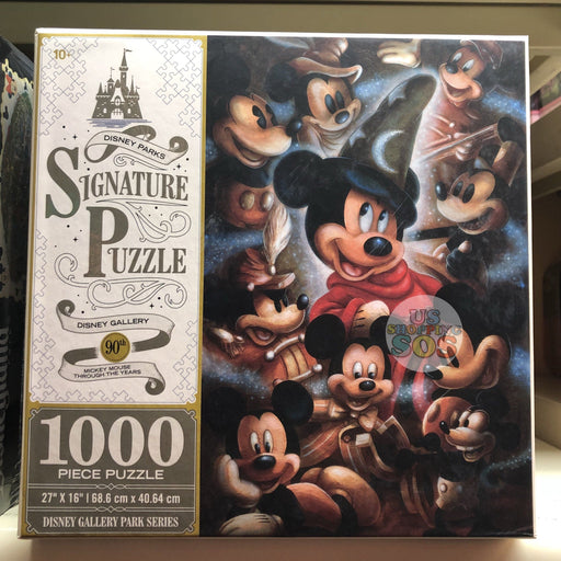 DLR - 1000 Piece Disney Parks Signature Puzzle - 90th Mickey Mouse Through The Years