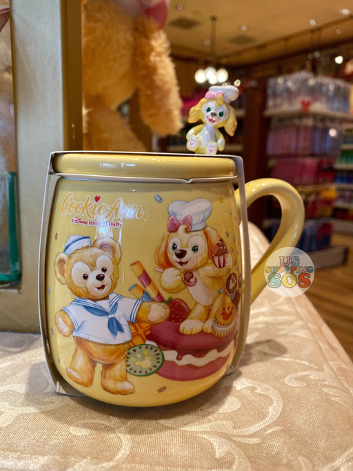HKDL - CookieAnn & Duffy Mug with Lid Set