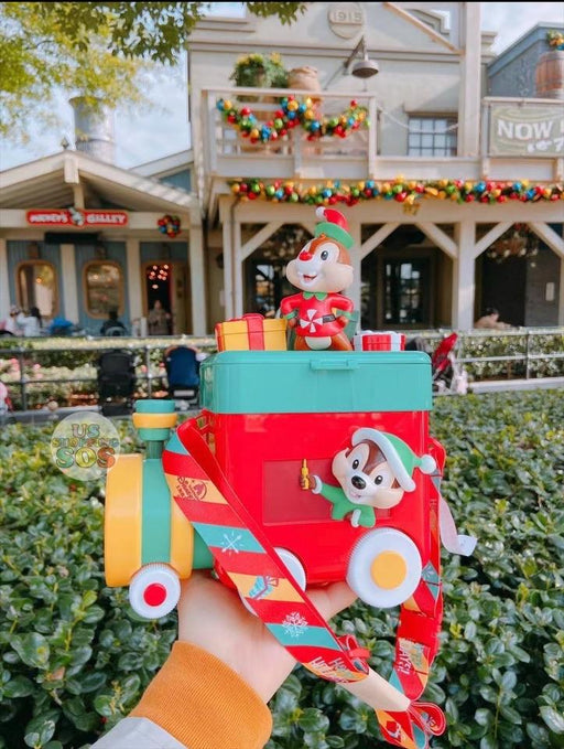 SHDL - Chip & Dale Christmas Train 🚂 Popcorn Bucket