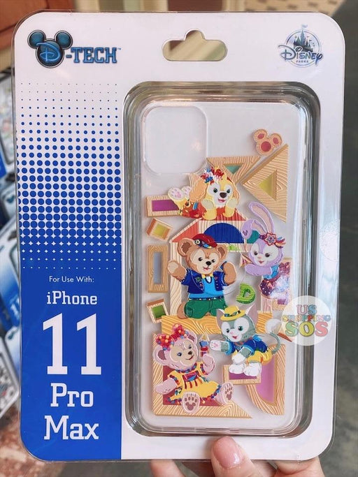 HKDL - iPhone Case - Duffy & Friends Puzzle Time