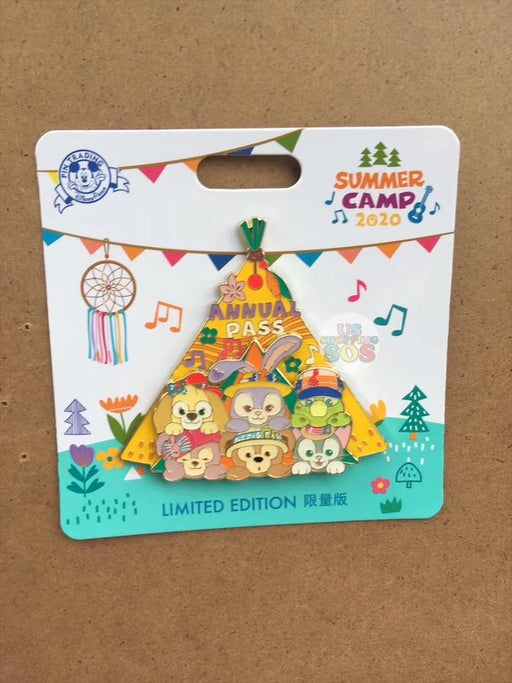 SHDL - Duffy & Friends Summer Camp Collection - Limited 800 Pin
