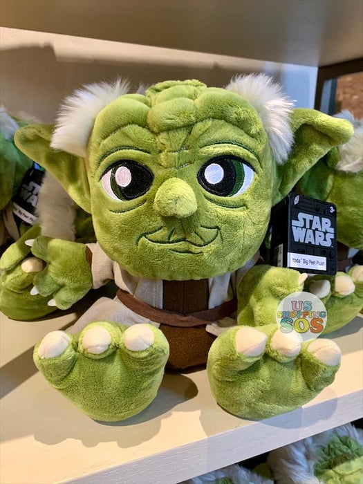DLR - Big Feet Plush - Yoda (Size M)