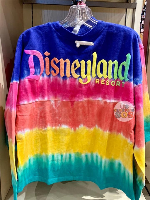 "DLR - ""Disneyland Resort"" Tie-Dye Spirit Jersey (Youth) - Vibrant"