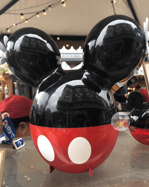 HKDL - Mickey Icon Balloon Popcorn Bucket