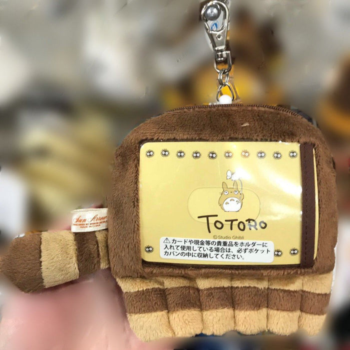 My Neighbor Totoro - The Cat Bus Plush Passholder