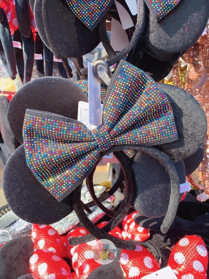 TDR - Minnie Multicolor Stud Bow Ear Headband