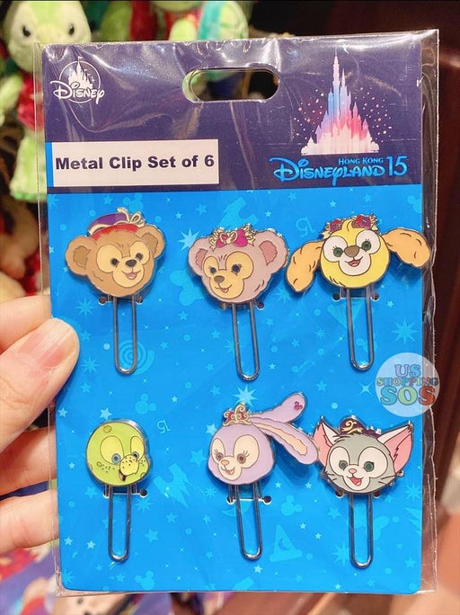 HKDL - 15 Years of Magical Dream - Duffy & Friends Metal Clip Set of 6