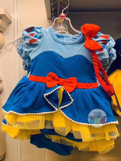 DLR - Baby Costume Bodysuit & Headband - Snow White (Design A)
