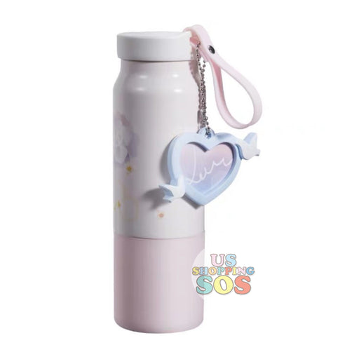Starbucks China - Valentine 2020 - Love & Peace Heart Frame Charm Stainless Steel Bottle (355ml)