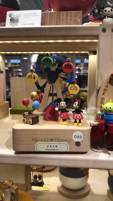 HK Disney Local License Collection- Music Box x Mickey & Minnie Mouse