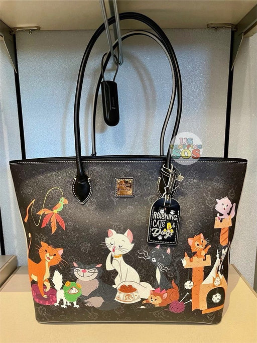 DLR - Disney Reigning Cats & Dogs 🐾 - Dooney & Bourke Disney Cats Tote Bag
