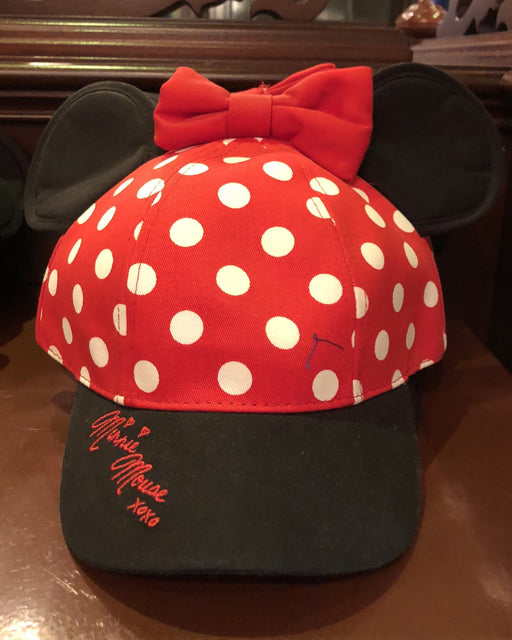 DLR - Minnie Ears Baseball Cap