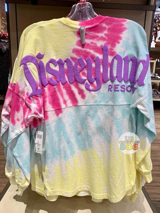 "DLR - Tie-Dye ""Disneyland Resort"" Spirit Jersey (Adult) - Lemon Berry Splash"