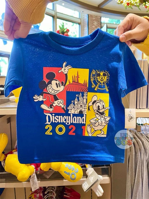 DLR - Disneyland 2021 - Mickey & Donald Graphic T-Shirt (Infant & Toddler)
