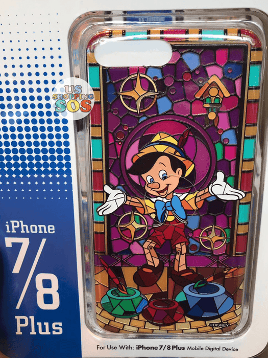 HKDL - iPhone Case Stained Glass Collection - Pinocchio