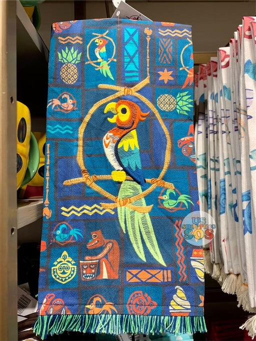 DLR - Disney Kitchen Towel - Enchanted Tiki Room