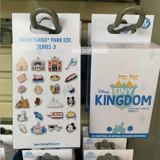 DLR - Disney Tiny Kingdom Pin Mystery Box (Series 3)