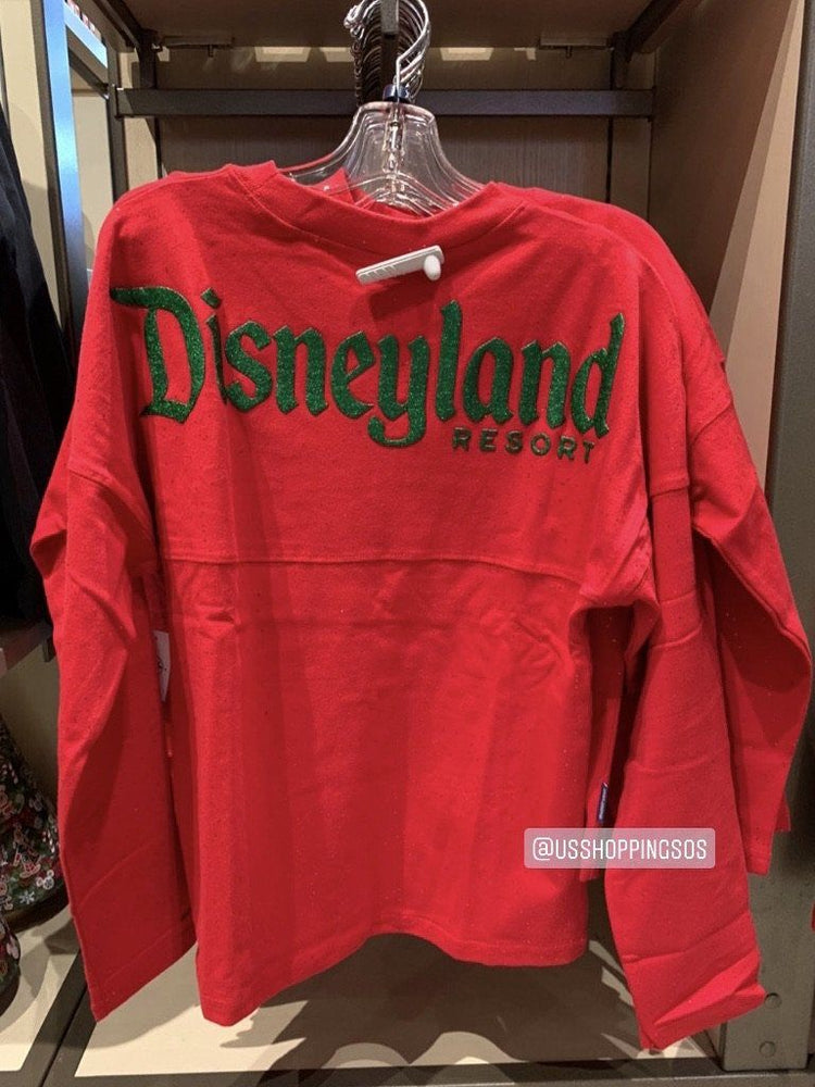 "DLR - 🎄Christmas 2020 - ""Disneyland Resort"" Spirit Jersey (Youth) - Minnie Red"
