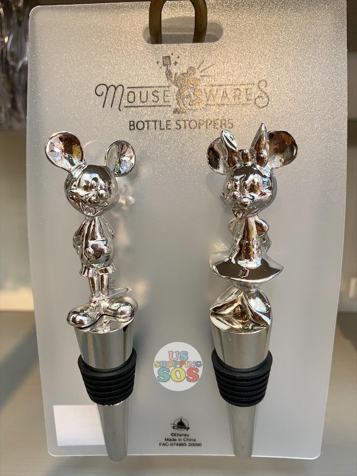 DLR - Mousewares Bottle Stopper Set of 2 - Mickey & Minnie