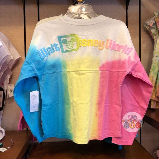 "WDW - Spirit Jersey ""Walt Disney World"" Pink Lemon Aqua Gradient (Youth)"