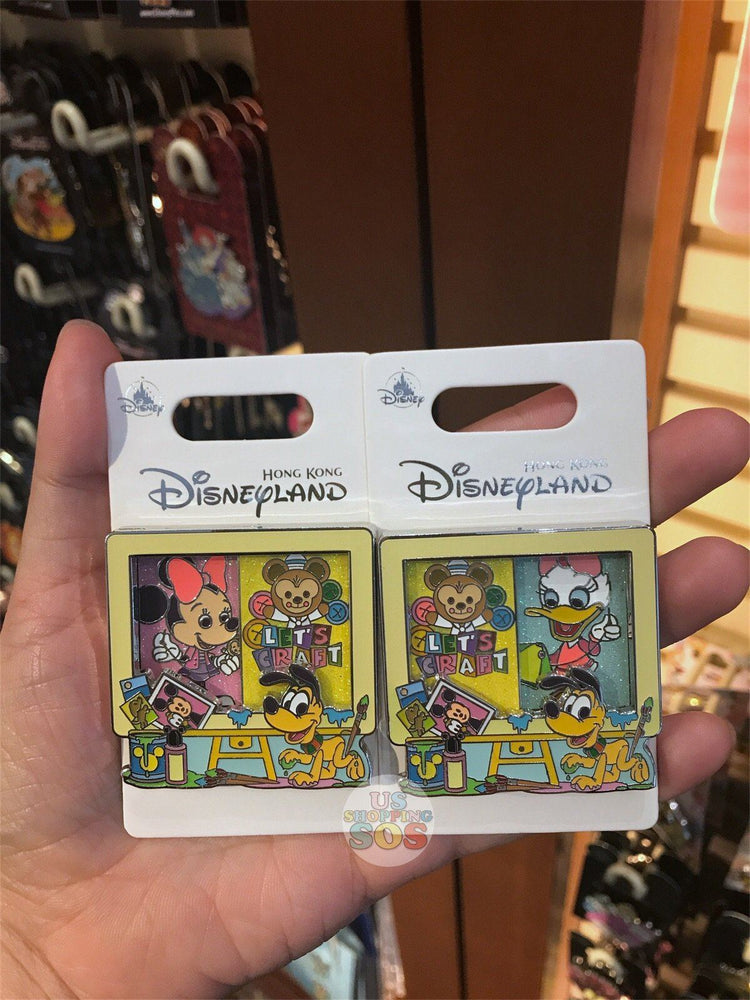 HKDL - Let's Craft Collection by Jerrod Maruyama - Pin x Minnie Mouse & Daisy Duck