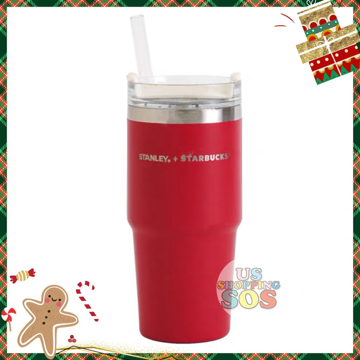 Starbucks China - Christmas Time 2020 (Store 1st Series) - Stanley Christmas Red Stainless Steel Tumbler 473ml