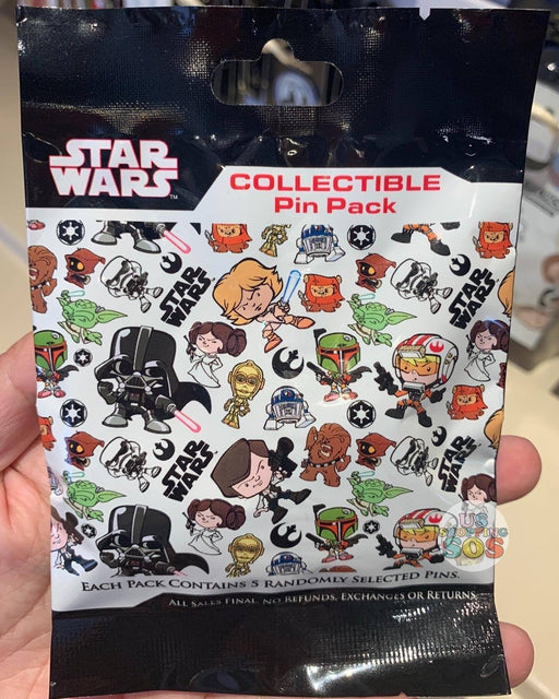 DLR - Mystery Collectible Pin Pack - Star Wars Kawaii Art