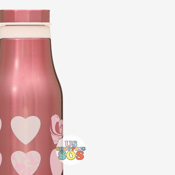 Starbucks Japan - Valentine 2021 - Stainless Bottle Marble Heart 473ml