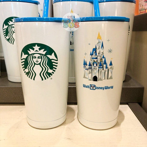 WDW - Starbucks Walt Disney World Castle Stainless Steel Cold Cup (2021)