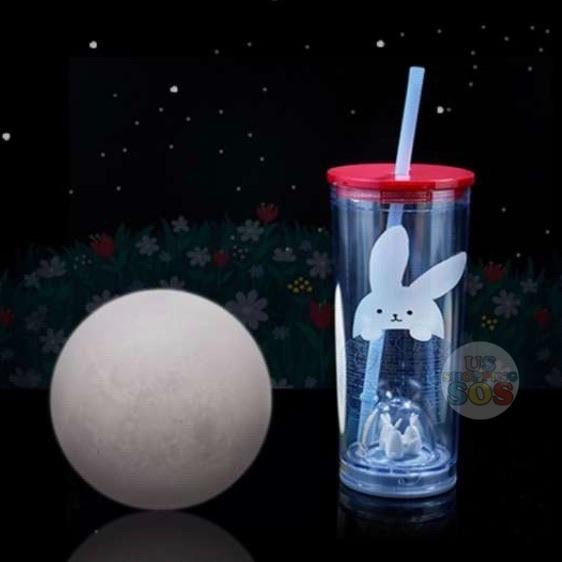Starbucks China - Moon Rabbit Coffee Time  - Bunny Party Straw Tumbler 532ml