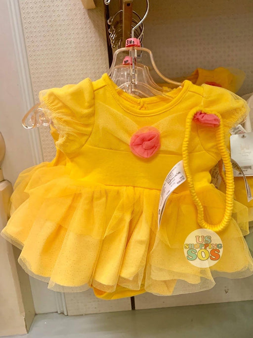 DLR - Baby Costume Bodysuit & Headband - Belle
