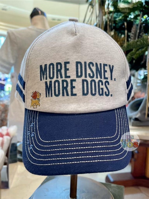 DLR - Disney Reigning Cats & Dogs 🐾 - More Disney More Dogs Baseball Cap (Adult)