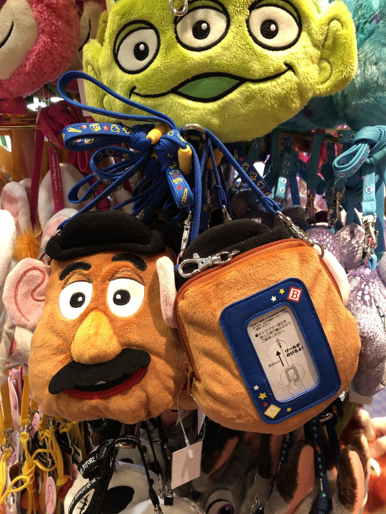 TDR - Crossbody Plush Passholder - Mr. Potato Head